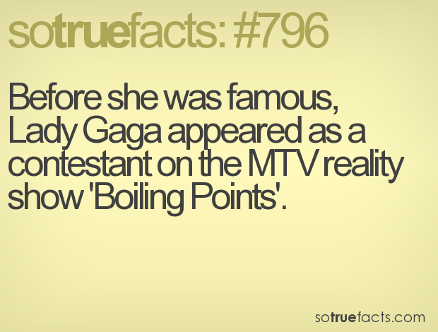 Before she was famous, 