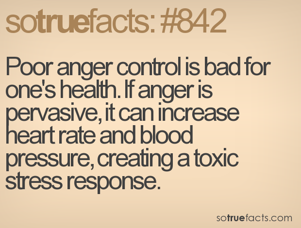 anger is bad for health heart Not all stress is bad sadness, anger or continued strain on your body from routine stress may contribute to serious health problems, such as heart.